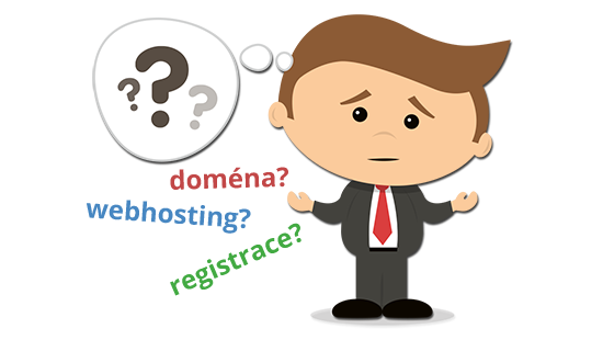 Výběr hostingu a domény